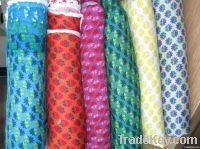 Printed Rayon Jersey Fabric