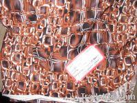 Printed Spun Polyester Spandex Jersey