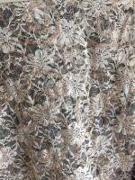 emb nylon span lace p/d w/spangle