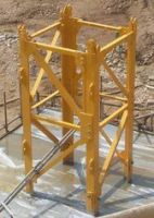 Q345B Steel F0/23B Tower Crane Mast Section , Tower Crane Sections