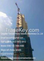 TC7520-12(QTZ250) 12 tons 183m China Hammer Head Tower Crane