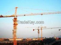 Steel Topkit Tower Crane For Large Goods Yard / Bridges 200m , Q345B ,