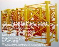 L68 Series Plate Tower Crane Mast Sec