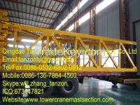structural steel Tower Crane Mast Section Safety with Plated type