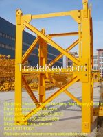 construction Tower Crane Mast Section Replaceable For elevator , L46A1