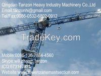 TCP7013-12(QTZ160P) China Building Tower Crane Manufacturer/ 200m Topl