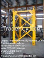 Split Mast, General Tower Crane Standard Section F0 / 23C , steel plate