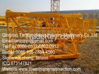 L68B1 Fish Plate Mast Section / Tower Crane Spare Parts/Split Crane Ma