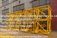 Replacement Tower Crane Mast Section Safety For Construction Hoist L68