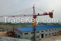 TC6015-8 Q345B Steel Building Tower Crane For Construction