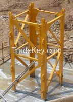 Interchangeable Tower Crane Mast Section F0/23C L46A1 1600mm X 1600mm X 3000mm