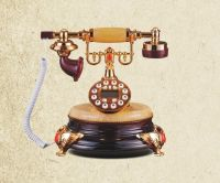 graceful antique telephone