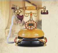 living room decorative antique telephone