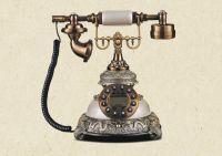 living room decorative antique telephone