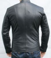 KENSINGTON BLACK Leather Jacket