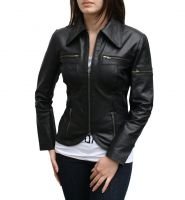 Ladies Leather Jackets of Sheep Leather