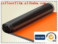 2-10 mm acoustic damp-proof eco IXPE foam underlay with mesh hole aluminum coating PE film golden film