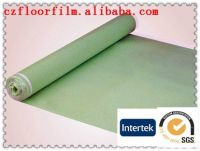 2-10 mm acoustic damp-proof eco IXPE foam underlay with mesh hole aluminum coating PE film golden film