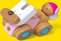 Wood Transformers- Car set