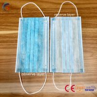 Disposable Non-woven 3ply Face Mask Surgical Face Mask For Hospital