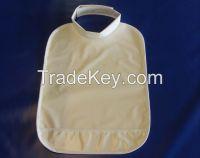 Water Proof Collar style 250 GSM Vinyl Baby Bibs