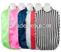 Collar style Polyester lining Adult Bib