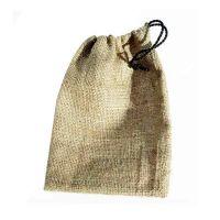 Burlap Drawstring Bag