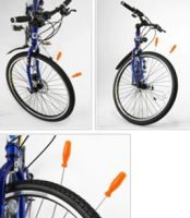 No Air Airless bicycle motorcycle tire