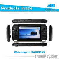 4.3 Inch Handle Game Player with HDMI+WiFi+64 Bit Games
