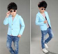 Summer Coat for Boys in Blue