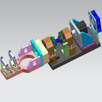cnc machining equipment trunk for cutting equipment