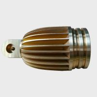 brass cnc machining parts for Spot light fittings