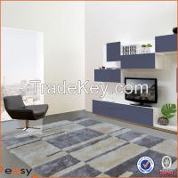 Luxury red soft thick pile living room carpet
