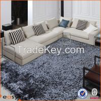 Mix colors commercial residential modern polyester flooring rug