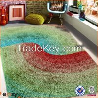 New Domotex pattern shaggy carpet for home textiles rugs