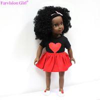 hot sale 18 inch wholesale black doll, black fashion doll