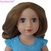 wholesale vinyl craft doll to dress, fashion 18 inch doll