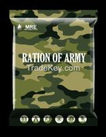 MRE/ MRE FOOD/ RATIONS/ ARMY FOOD/MILITARY FOOD