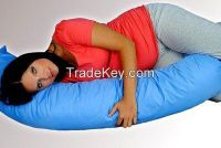 Relaxing antibacterial maternity pillow