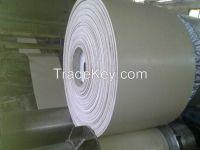2014 Latest White Rubber Cotton Canvas Conveyor Belt
