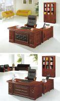 office furniture executive table wood executive table book cabinet leather sofa water_tea table