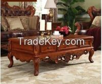 Living room furniture coffee table american style stock 20141023-75