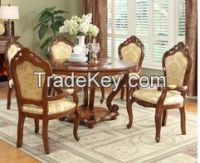 Dining room dining furniture dining room set dining table and chair restaurant table and chair stock american style 20141024-20