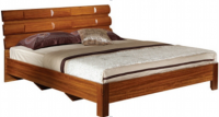 bed wood bed