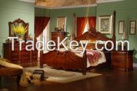 american style-country bedroom