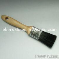 Black Bristle Paint Brush