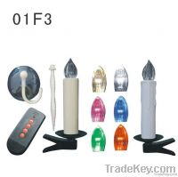 color changing Wireless remote control led candle