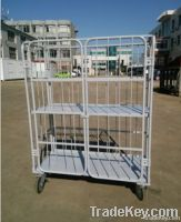 steel collapsible logistics tool trolley
