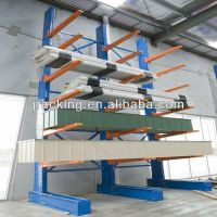 2014 new warehouse rack type of cantilever,hot dipped galvanized cantilever rack, pipe storage shelf