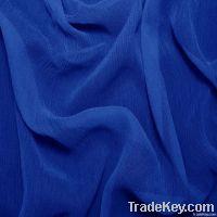 100%crinkled silk georgette